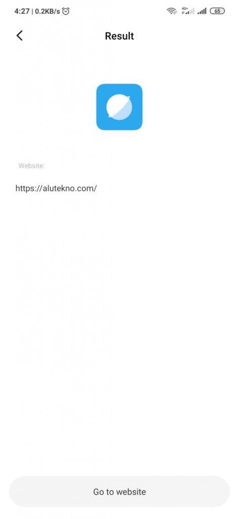 hasil scan barcode xiaomi 473x1024 - Cara Scan Barcode dan QR Code di HP Android