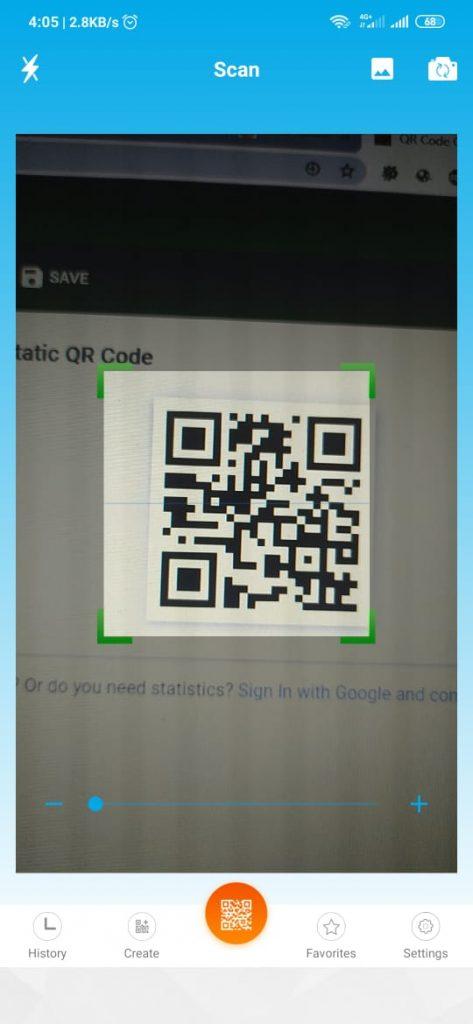 qr code reader 2 473x1024 - Cara Scan Barcode dan QR Code di HP Android