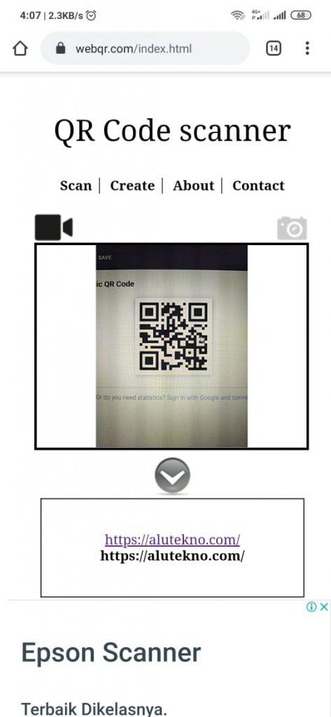 website qr 2 473x1024 - Cara Scan Barcode dan QR Code di HP Android