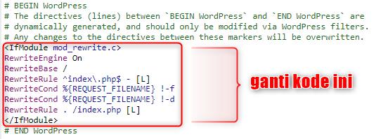 image 2 - Mengatasi The response is not a valid JSON response pada Wordpress