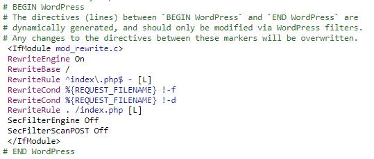 image 3 - Mengatasi The response is not a valid JSON response pada Wordpress