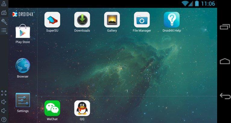 Droid4X emulator Android Ringan - 10 Rekomendasi Emulator Android Paling Ringan untuk PC / Laptop