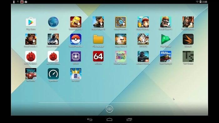 LeapDroid Emulator Android - 10 Rekomendasi Emulator Android Paling Ringan untuk PC / Laptop