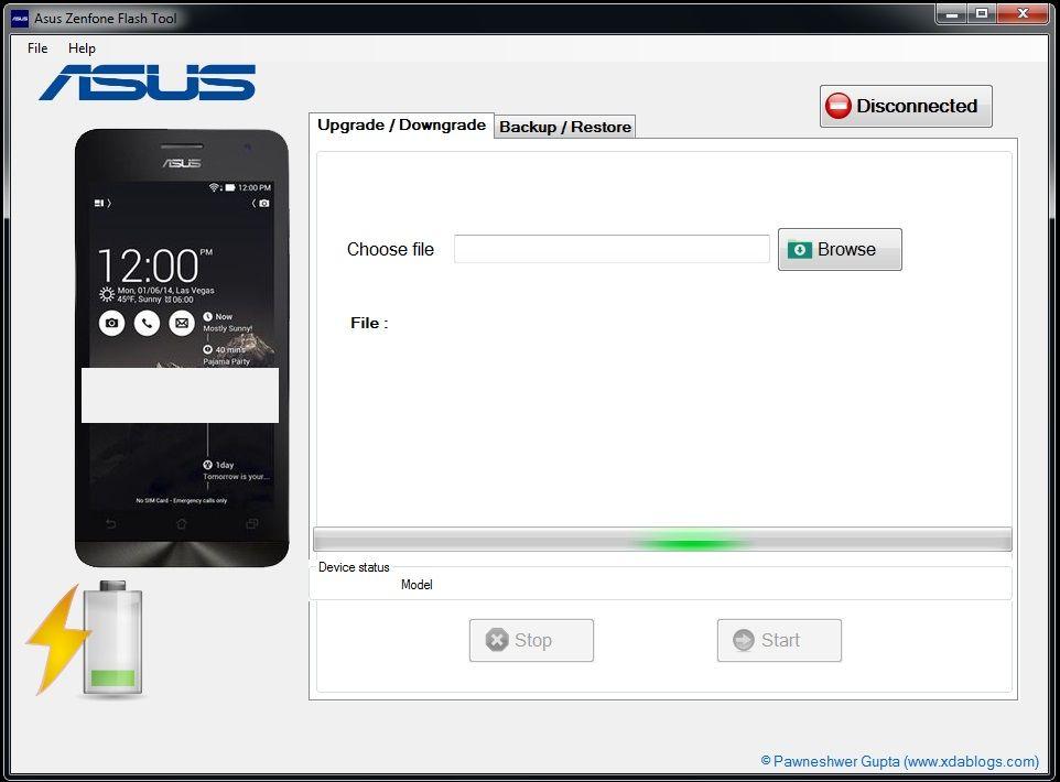 cara flash asus zenfone dengan flashtool - Cara Flash Asus Zenfone 5 Bootloop