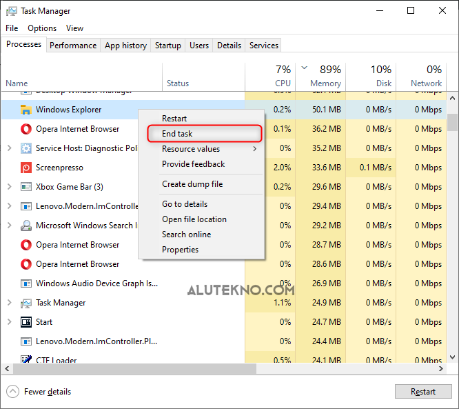 image 1 - Cara Mengatasi Start Menu Windows 10 Tidak Berfungsi