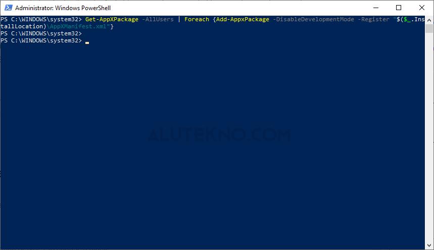 image 2 - Cara Mengatasi Start Menu Windows 10 Tidak Berfungsi